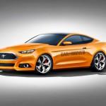 Čokoladni Ford Mustang 2015  za dan zaljubljenih